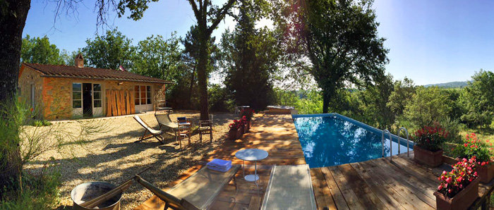I 39 cocolli private tuscany villa with swimming pool for Pool garden outlet